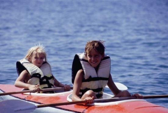 Sit-In Kayak For Kids